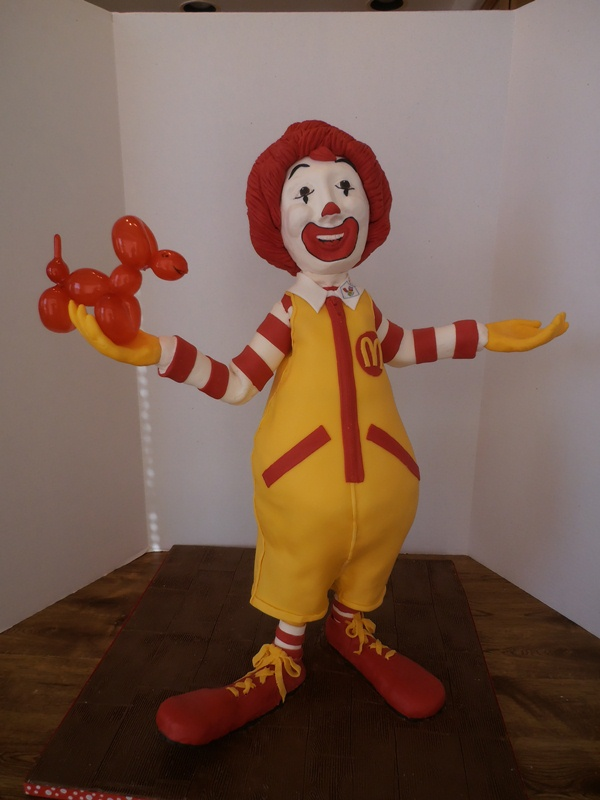 Ronald Cake structure